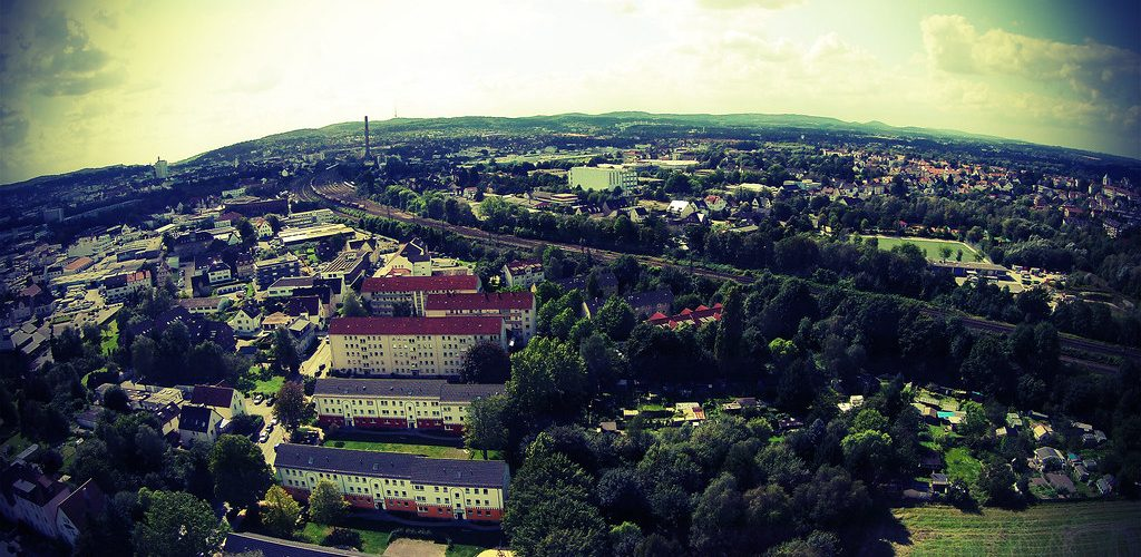 Luftaufnahme Bielefeld