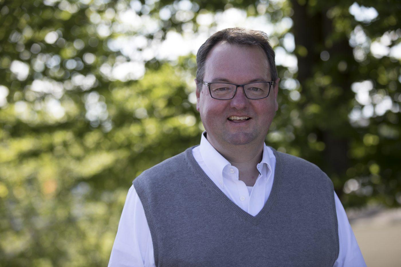 Stefan Kraus ist Leiter des für Technik, Umwelt, Grün der Stadt Herrenberg.
