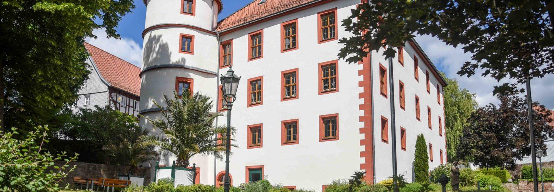 Das Eichenzeller Schlösschen ist auch das Rathaus der Gemeinde.